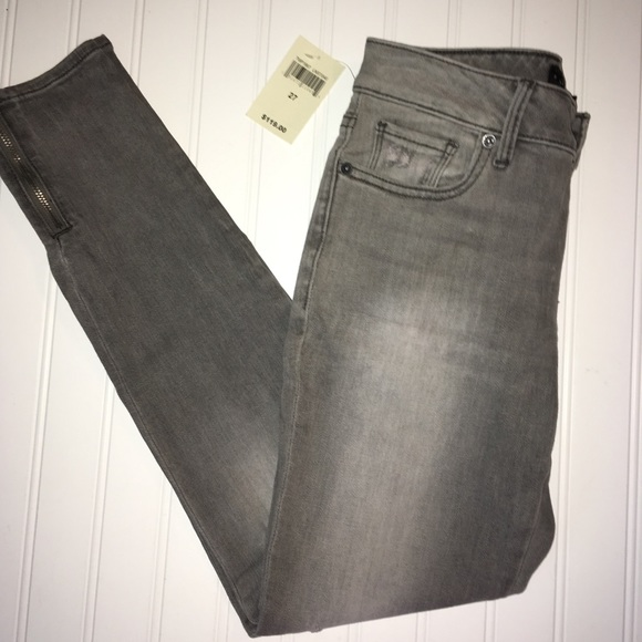 023b327c05 Lucky Brand Denim - lucky brand ladies size 4 27 skinny gray jeans.